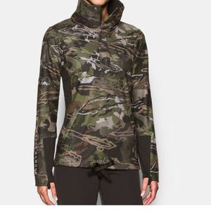 NEW Under Armour Forest Camo Jacket